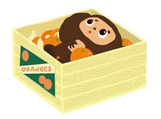 オレンジ箱のチェブラーシカ(リヴリーコラボ).PNG